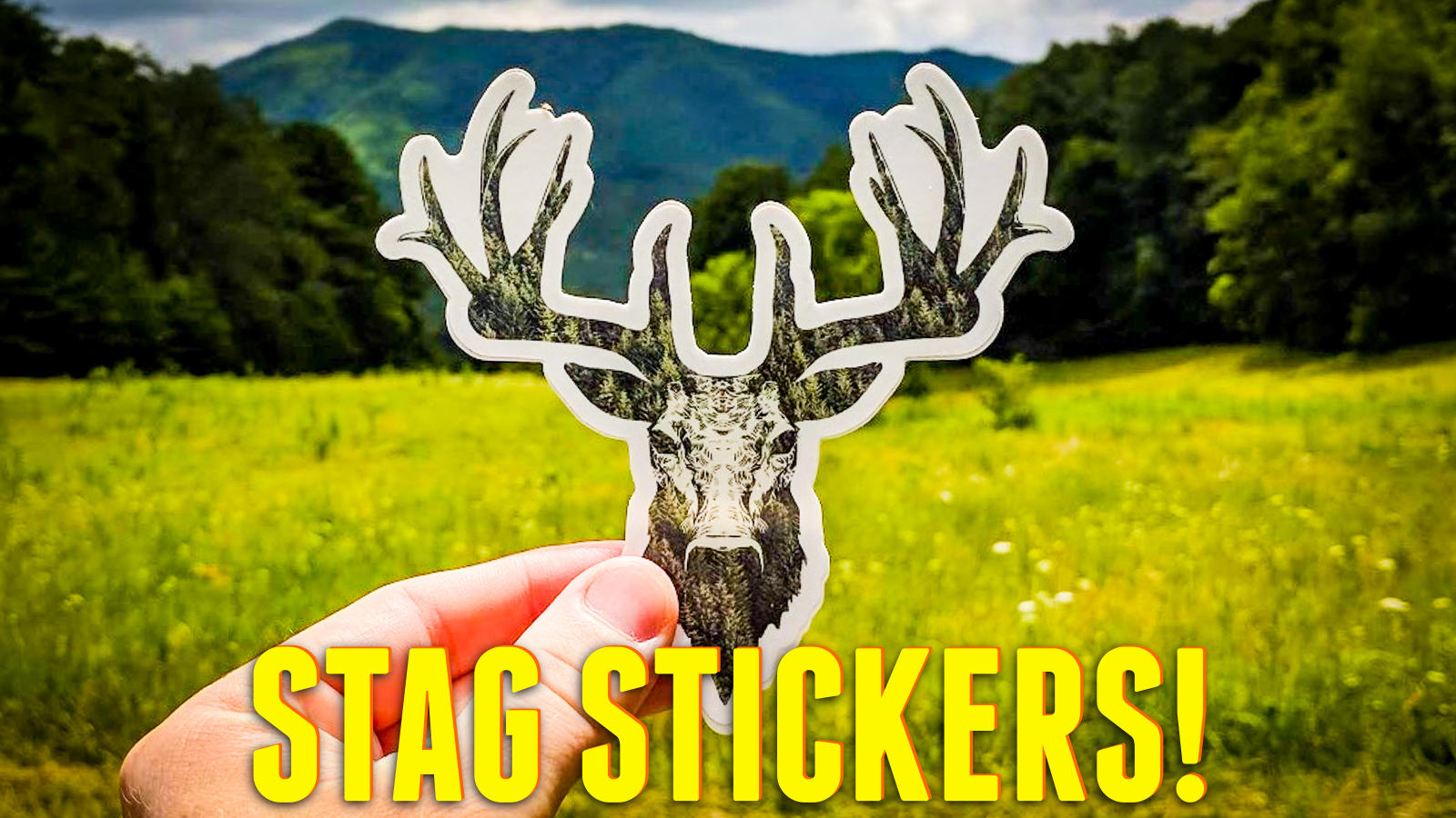 Stag Stickers