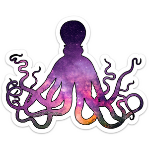 Lord Bodner's Galactic Octopus (6 in. x 4.81 in.)