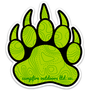 Bear Paw (3.59 in. x 4 in.)