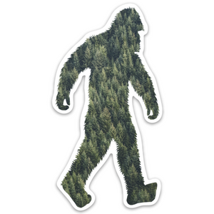 Evergreen Squatch (4.26 in. x 2.27 in.)