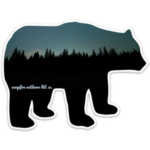Midnight Pines Bear (5 in. x 3.74 in.)