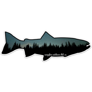 Midnight Pines Trout (8 in. x 2.73 in.)