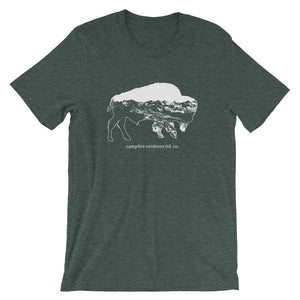 Bison Tee - Short-Sleeve Unisex T-Shirt