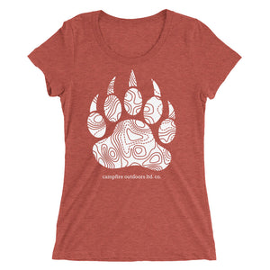 Bear Paw - Ladies' short sleeve t-shirt