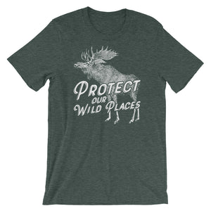 PROTECT OUR WILD PLACES - Short-Sleeve Unisex T-Shirt