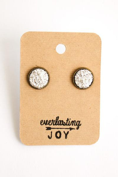Sunshine & Whiskey Studs - Silver