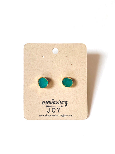 Green Frog Studs
