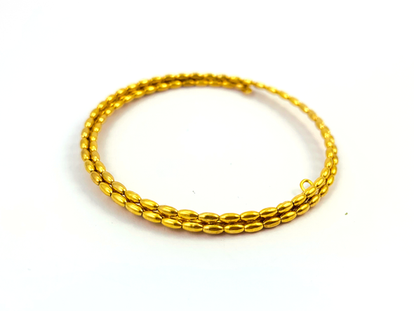 Walk This Way Wrap Bracelet - Gold Bits