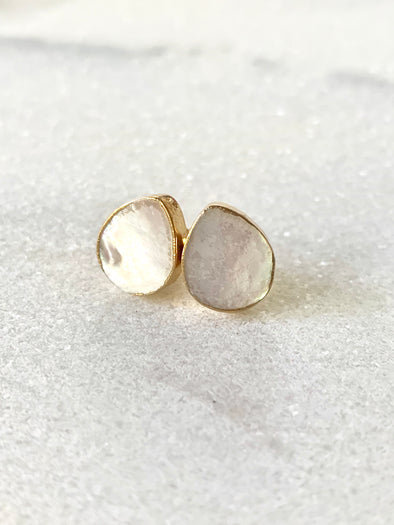 Seaside Studs - Mother of Pearl