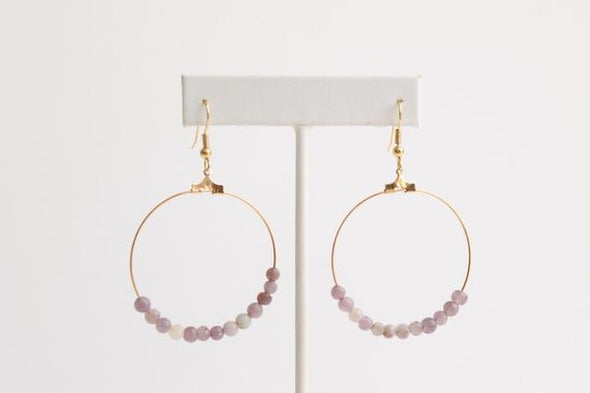 Lilac Hoops