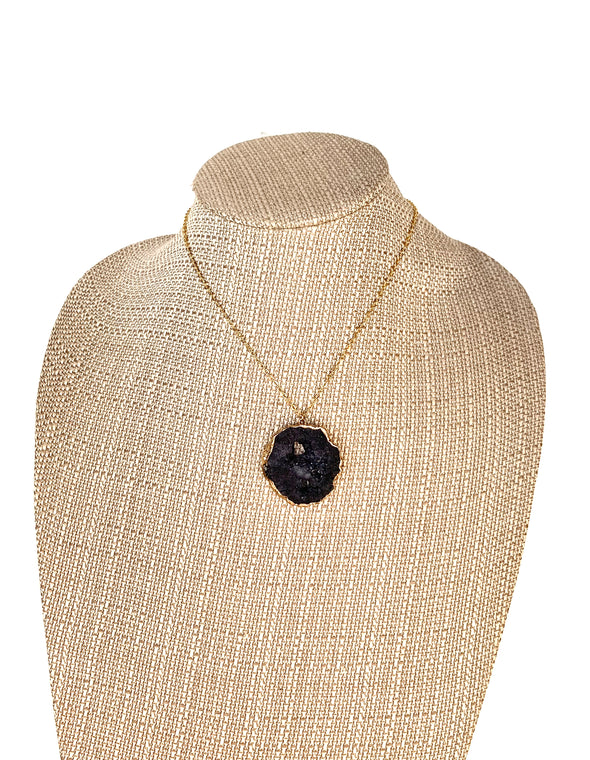 Black Druzy Beauty