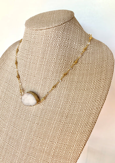 White Night Necklace
