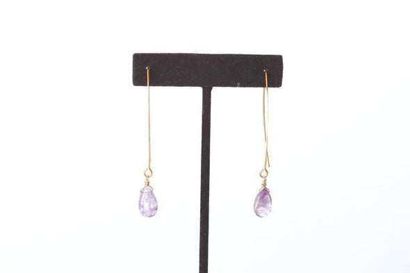 Eye on The Prize Earrings in Amethyst