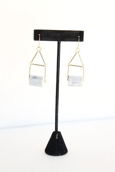 Porcelain Banister Earrings