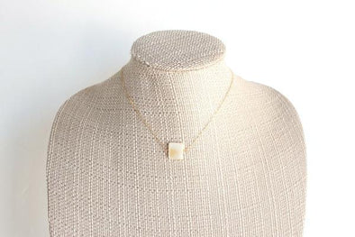 Pearl Square Necklace
