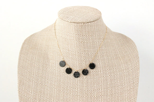 Starry Night Drop Necklace