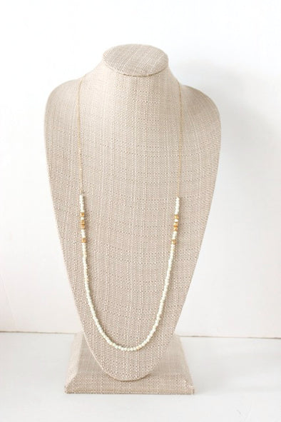 Little Bit Necklace in White