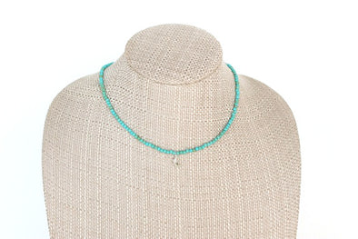 Twitch Necklace in Turquoise