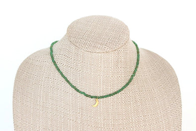 Twitch Necklace in Green