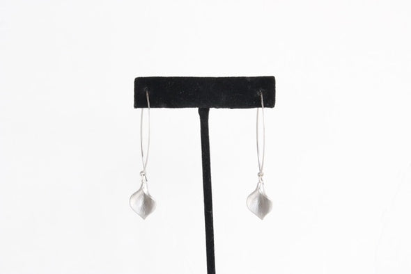 Hanging by a Thread Earrings in Silver