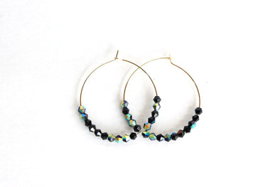 Hoop De Doos (Gold/Metallic Black)