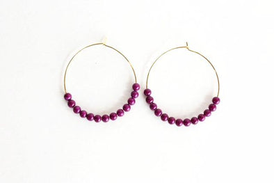 Hoop De Doos (Gold/Purple)