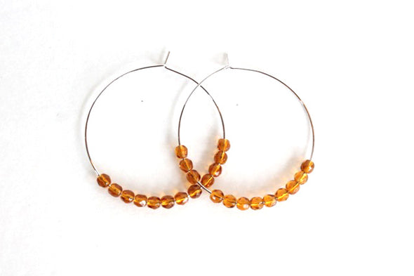 Hoop De Doos (Silver/Orange)