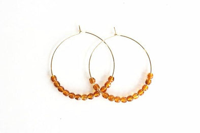 Hoop De Doos (Gold/Orange)
