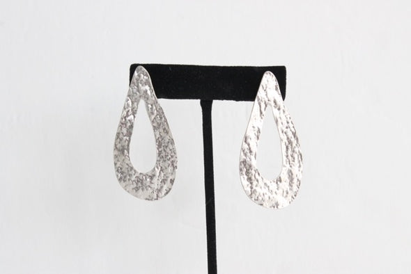 Drop in the Bucket Earrings in Silver