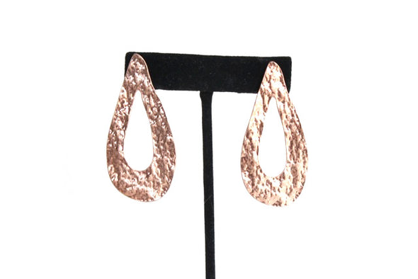 Drop in A Bucket Earrings in Rose Gold