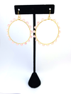 Wrap and Roll Hoops - Gold & Pink
