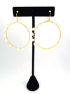 Wrap and Roll Hoops - Gold & Mother of Pearl