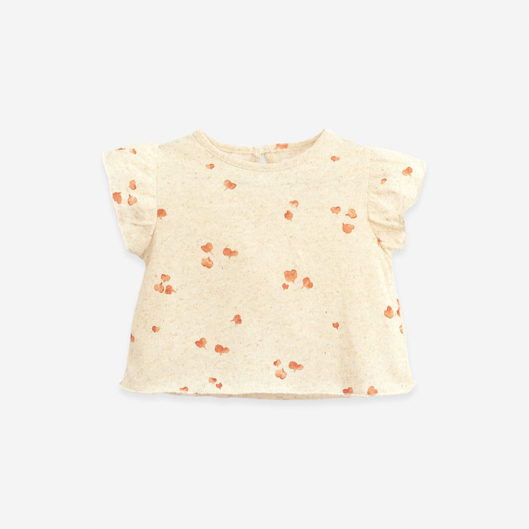 Heart Print T-Shirt | Play Up