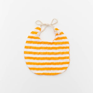 Citrus Stripe Bib