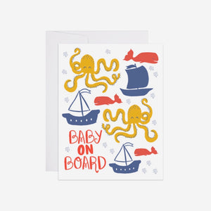 Baby on Board Card