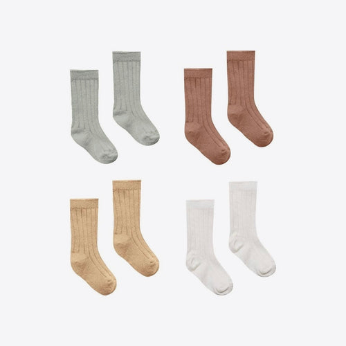 Organic Baby Sock (Multiple Colors) | Quincy Mae