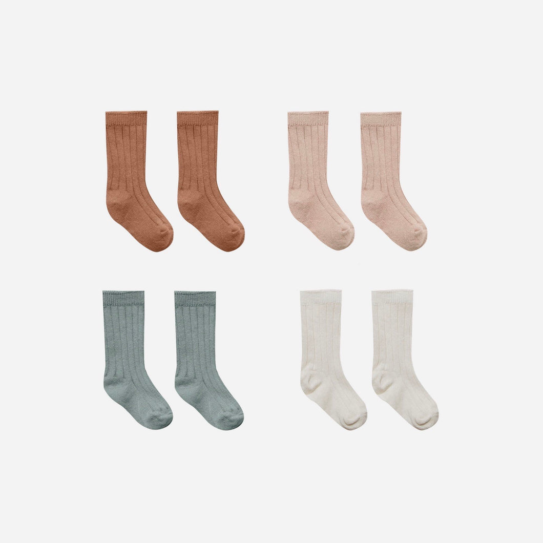 Baby Socks (Multiple Colors) | Quincy Mae