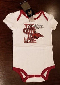 NEW Baby One Piece Size 18m, Size 24m, Arkansas Razorbacks
