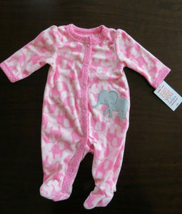 Baby Girl's Sleeper Pajama Size Newborn Carter's