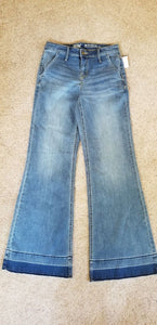 New Women's Jeans Size 2/26R Mossimo Hippie Jeans Stretchy