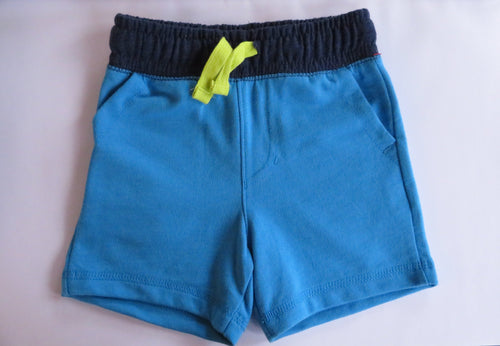 NEW Cat & Jack Baby Boy Shorts Blue 18 Months Soft Cotton Blend