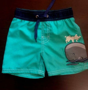 Starting Out (Dillard's) Little Boy's Swimming Trunks Infant - Toddler 12/18M, 18/24M NWT