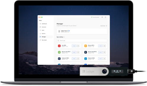 Ledger Live: Manage your crypto quickly, easily and safely