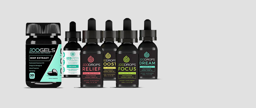 New CBD Oil Products made from full spectrum hemp extract