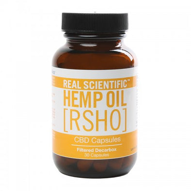 Real Scientific Hemp Oil - Gold CBD Capsules