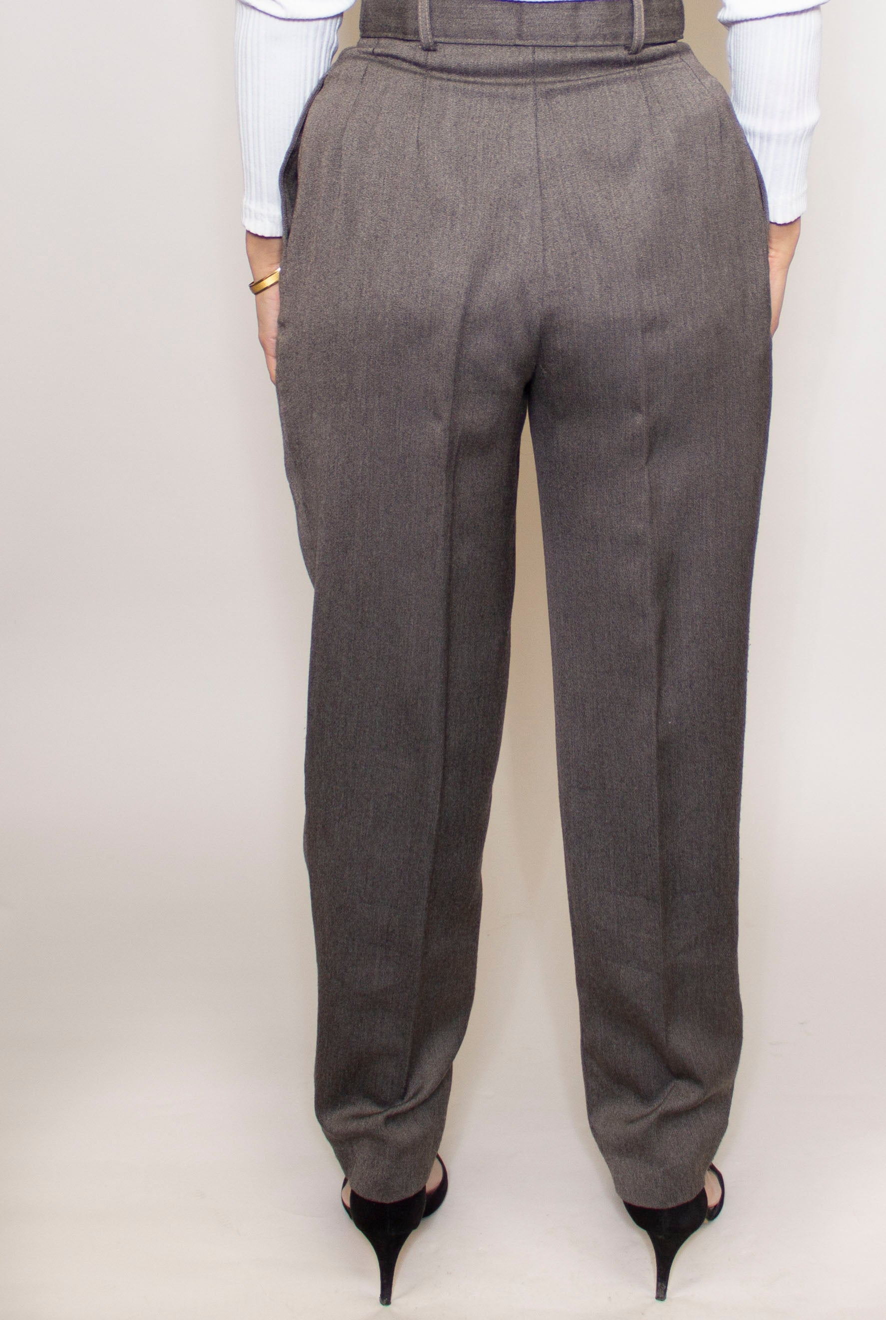 Sinched Belted Trousers