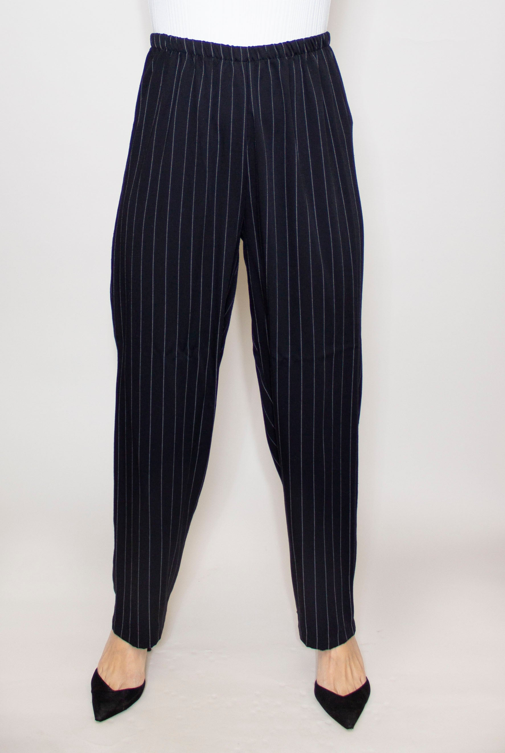 Relax Fit Pin Stripe Trouser