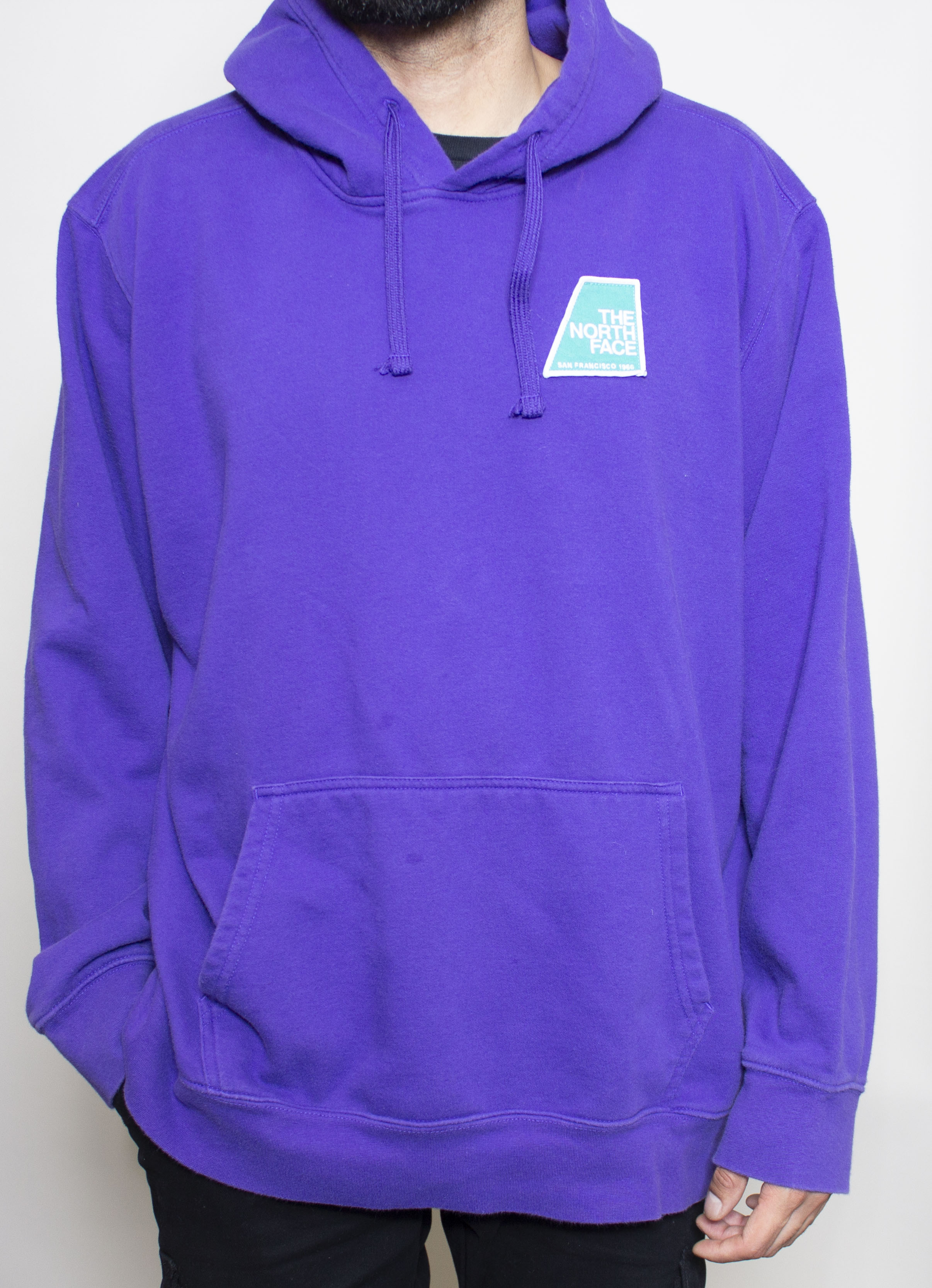 Purple North Face Hoodie