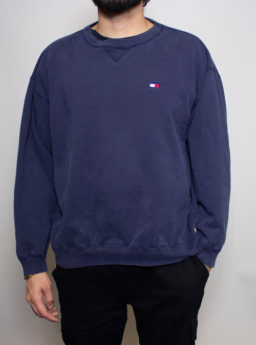 Tommy Navy Crewneck