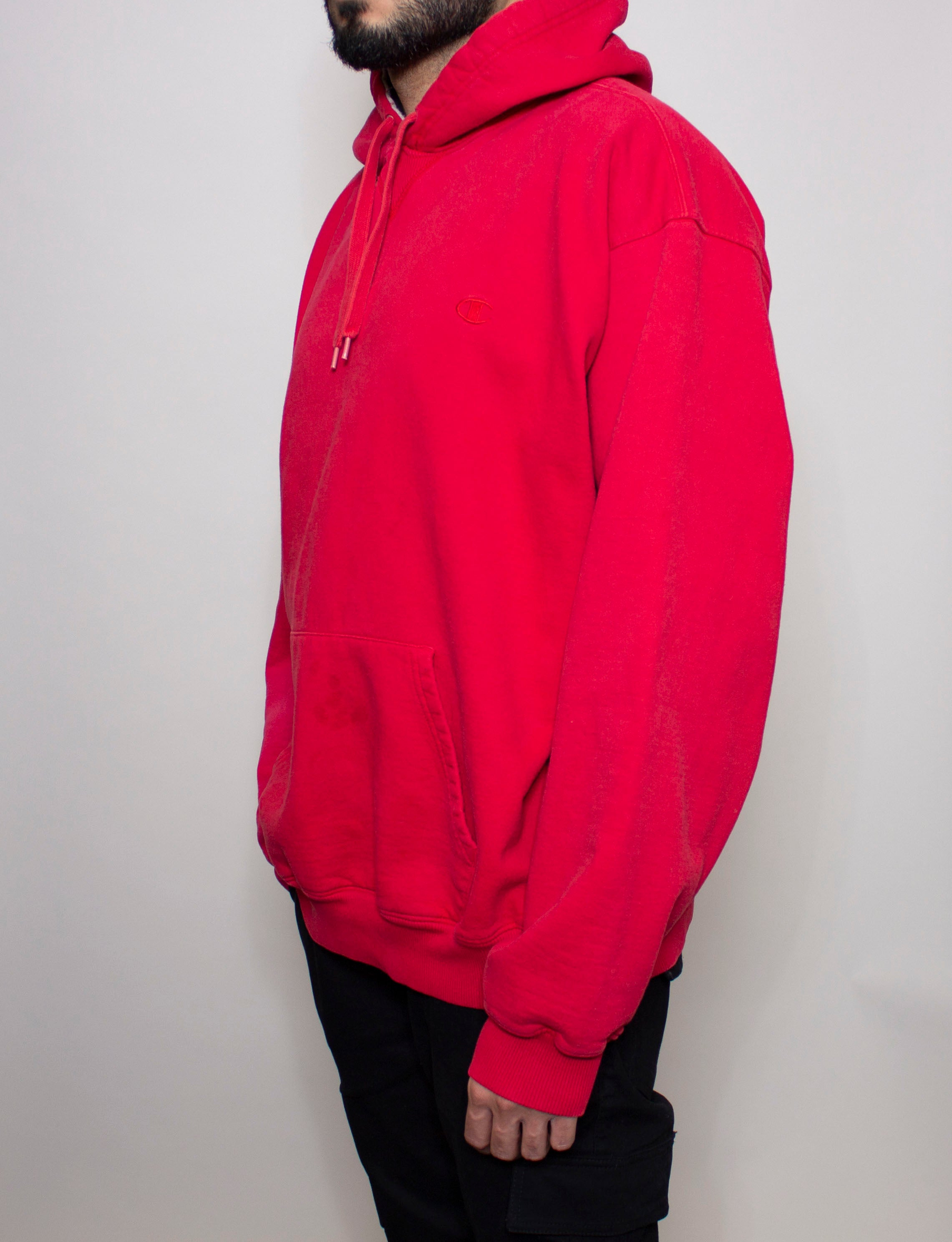 Red Champion Hoodie